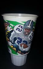 1995 MCDONALD'S NFL LOONEY PLAYS 32 OZ. COLLECTIBLE CUP - EMMITT SMITH & BUGS