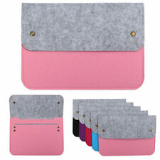 Felt Sleeve Laptop Case Cover Bag for Apple MacBook Air Pro Retina13 Pink Color