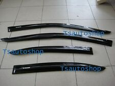 BLACK 4DOOR VISOR RAIN WEATHER GUARD FOR NEW TOYOTA VIOS BELTA YARIS SEDAN 2013