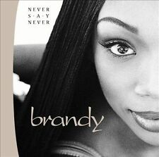 Never Say Never by Brandy (Cassette, Jun-1998, Atlantic (Label))