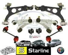 KIT ARMS SUSPENSION FRONT STARLINE ALFA ROMEO 147 156 GT (8 PIECES)