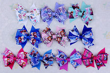 Wholesale Frozen 10pcs baby girl toddler Mothers' Day gift 3inch hair bows-2317