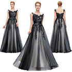 VINTAGE 1950s Retro Long Formal Ball Gown Wedding Bridesmaid Evening Party Dress