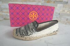 TORY BURCH Gr 41 11 Slippers Espadrilles Loafers Shoes Snake NEW