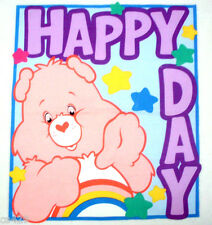 "15.5"" CARE BEARS CHEER  BEAR WALL SAFE FABRIC DECAL CHARACTER CUT OUT"
