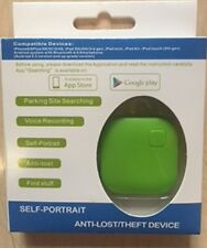 Anti furto Anti smarrimento BLUETOOTH dispositivo di allarme KEY FINDER TRACKER GPS colore verde