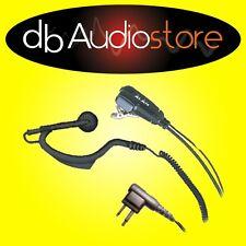 Midland MA21-L Microfono con Auricolare Jack Doppio per Ricetrasmittenti PMR446