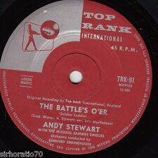 ANDY STEWART The Battle's O'er / Tunes of Glory 45