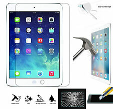 9H HD 100% Genuine Tempered Glass LCD  Screen Protector For Apple iPad 2/3/4
