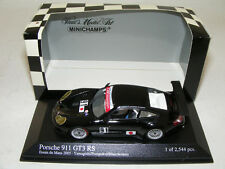 1/43 Minichamps Porsche 911 GT3 RSR from 2005 Lemans Practice car #91