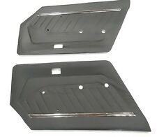 Datsun 280Z 1977 1978 Door Card Panel Set Black Pair Panels NEW 584