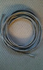 """26' Braided stainless wire loom sleeve sheathing cover sharp 5/16"""" EXPANDABLE"""