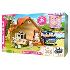 Unbranded Calico Critters Lakeside Lodge Gift Set