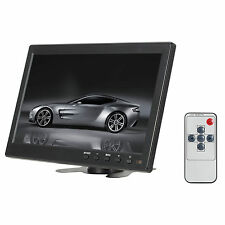 10.1'' 1024*600 Pixels HDMI VGA AV Car Monitor W/ Screen Slim Design UV Coating