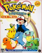POKEMON INDIGO LEAGUE VOL. 1-79 END JAPANESE ANIME DVD BOX SET