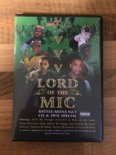 Hot Headz Promotions Presents... Lord Of The Mic Battle Arena Vol.1 CD & DVD