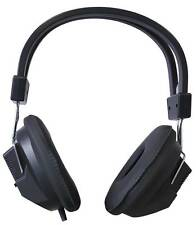 Full Size Economy Stereo Headphones With Padded Ear Cups & Adjustable Headband