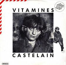 CASTELAIN VITAMINES / BABYLONE FRENCH 45 SINGLE PROMO