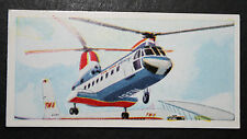 New York Airways  Boeing V107 Helicopter 1960's Vintage Card VGC