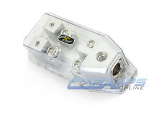 STINGER MIDI FUSED 0/4 TO 4/8 GAUGE AWG CAR STEREO AMP WIRE DISTRIBUTION BLOCK