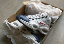Reebok Question Mid (White / Pearlized Navy / Red) - US 8 / EUR 40,5 - in OG Box