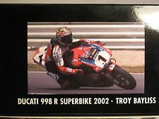 Minichamps 122021201 Ducati 998R Superbike Troy Bayliss 2002