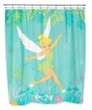 FABRIC - Disney Fairies  - Tinkerbell SHOWER CURTAIN