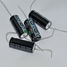 5pc 450V 33uf 105C New long copper leads Axial Electrolytic Capacitor audio amps