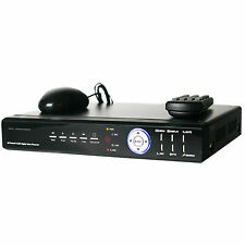 8 Channel Video Audio CCTV Security Surveillance Internet Mobile Phone View DVR