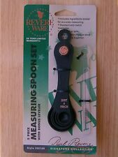 Revere Ware 5 Piece Measuring Spoon Set with Leveler  #55156