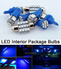 Blue LED Interior 14PCS Lights Package Kit for Chrysler 300 300C 2005 2010