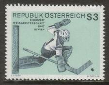 AUSTRIA MNH 1967 SG1496 WORLD ICE HOCKEY CHAMPIONSHIPS, VIENNA