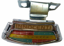 ukscooters LAMBRETTA LI SERIES 2 & 3 HORNCAST BADGE CLIP INNOCENTI GOLDEN