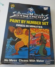 1986 SilverHawks (Silver Hawks) Paint by Number set never opened