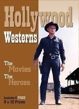 Hollywood Westerns : The Movies. the Heroes. 60 PG BOOK 6 FRAMEABLE PRINTS