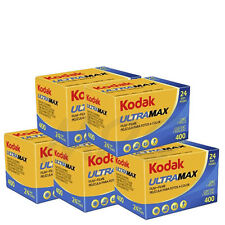 5 Rolls Kodak UltraMax Gold 400 135-24 Color Negative Print Film 06/2017