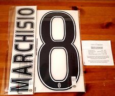 2015-16 Juventus Home Shirt MARCHISIO#8 OFFICIAL DekoGraphics Name Number Set