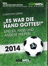 Es war die Hand Gottes – Fußball Abreißkalender 2014 – RARITÄT ovp, Spieler, Fan
