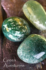 GREEN AVENTURINE-Birthstone LIBRA-LuckyTalisman ARIES Plus A to Z book of Stones