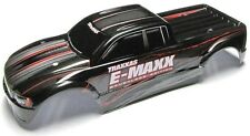 E-MAXX Brushless BODY shell (BLACK, SILVER brushless edition)  Traxxas 3908