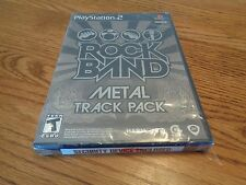 Rock Band: Metal Track Pack  (Sony PlayStation 2, PS2 2009) BRAND NEW & SEALED