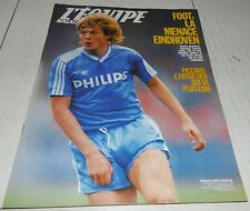 EQUIPE MAGAZINE N°356 1988 FOOTBALL PSV EINDHOVEN LERBY REAL HOCKEY FOSTER