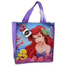 6 DISNEY PRINCESS ARIEL MERMAID REUSABLE SHOPPING GIFT BAG BIRTHDAY PARTY FAVORS