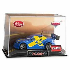 Disney Store Cars 2 Die Cast Collector Case Flash 1:43 Scale NEW