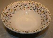 NEW  Salad Bowl  Toscana Pattern From GIEN