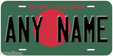Bangladesh Flag Any Name Personalized Novelty Car License Plate