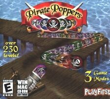 Pirate Poppers PC Game Window 10 8 7 Vista XP Computer match luxor snake gem pop