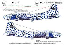 Hungarian Aero Decals 1/48 B-17F FLYING FORTRESS ASSEMBLY SHIP SPOTTED COW