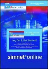 Simnet Online: Microsoft Office 2007 Suite, Unknown, New Book