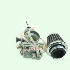 Carburetor W/ Air Filter Kit for Kawasaki KLX110 Suzuki DRZ110 Carb